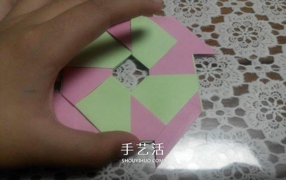 八角飞镖怎么折图解 忍者八角飞镖的折法