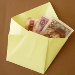 简单又可爱钱包折纸 儿童折纸钱包的折法图解