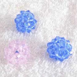 串珠水晶球制作方法 详细水晶球用串珠做图解