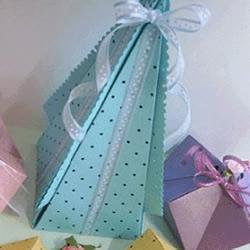 喜糖包装盒的折法图解 折纸喜糖盒子的方法