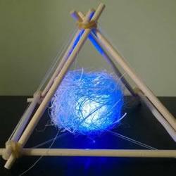 自制浪漫小夜灯的方法 简单又漂亮创意灯具DIY