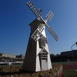 荷兰风车模型制作方法 PVC板做荷兰风车的教程