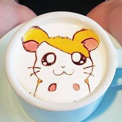 把世界名画带进咖啡拉花 舍不得喝的杯中艺术