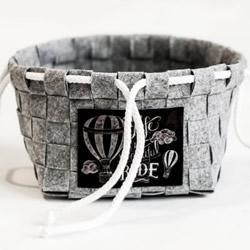 布条编织收纳篮图解 布艺收纳篮的编织方法