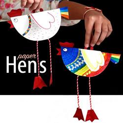 幼儿剪纸制作小鸡挂饰 卡纸做小鸡挂饰的方法
