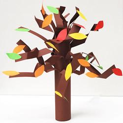 幼儿园大树手工制作 简单立体大树的做法教程