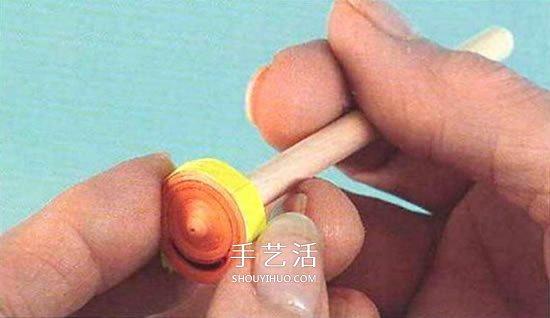衍纸娃娃的制作方法 手工衍纸人偶娃娃图解 -  www.shouyihuo.com