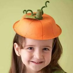 幼儿万圣节帽子的做法 手工制作万圣节帽子图解