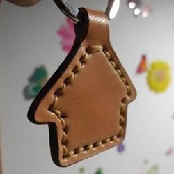 自制皮革钥匙扣的方法 皮革手工制作钥匙扣