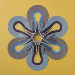 交错纵横的几何纸编作品 一起进入冥想时间吧!