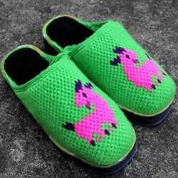 保暖拖鞋的编织方法 冬天穿拖鞋的做法图解