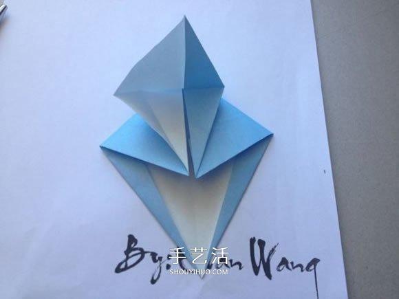 怎么折纸翼龙的折法 手工折纸翼龙图解教程