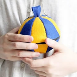 球形拼布包的做法 自制圆球拼布包的方法