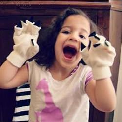 猫爪手套的制作方法 自制儿童猫爪玩具教程