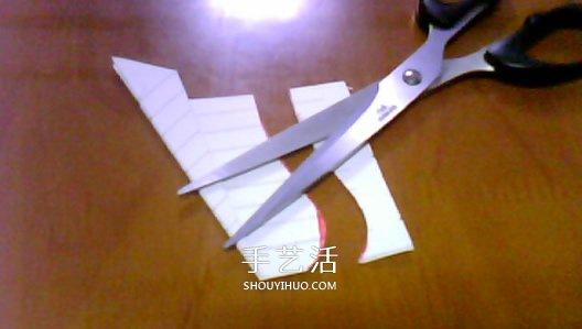 paperang纸飞机怎么折 折纸paperang纸飞机图解
