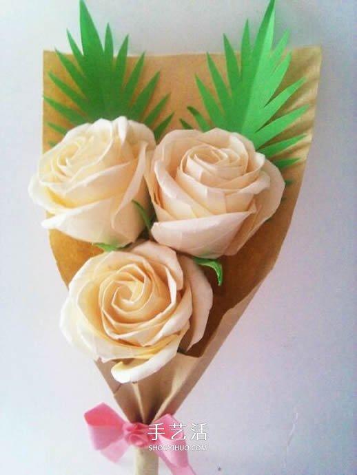 玫瑰花怎么折步骤图解 折玫瑰的方法步骤图