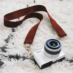 自制相机背带的方法 简单相机带子手工制作