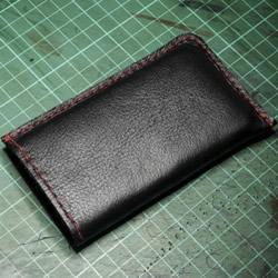 旧皮包改造时尚手机套 旧皮包变废为宝做手机套