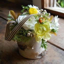 白桦树皮手工制作花瓶 自制田园风花瓶的方法