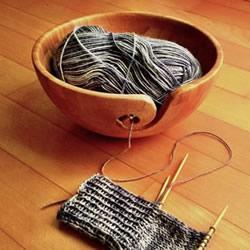 实用竹碗改造小制作 让毛线编织变得更简单!