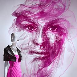 轻柔的薄纱DIY美丽脸庞 打造出一抹优雅风情