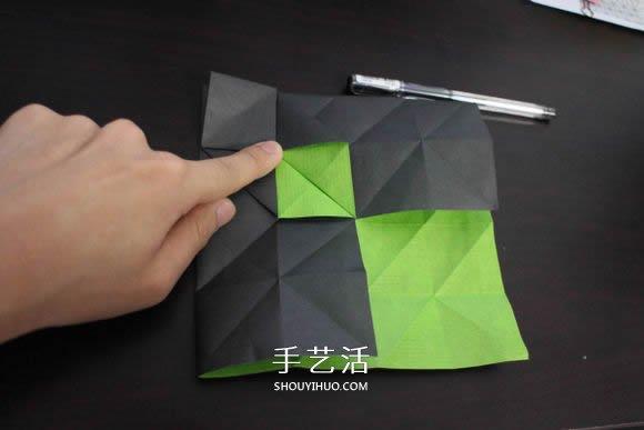 耐克标志的折纸方法 怎么折NIKE标志的图解
