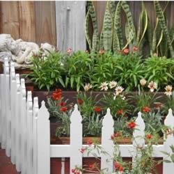 自制园艺小围栏的方法 木板园艺围栏DIY教程