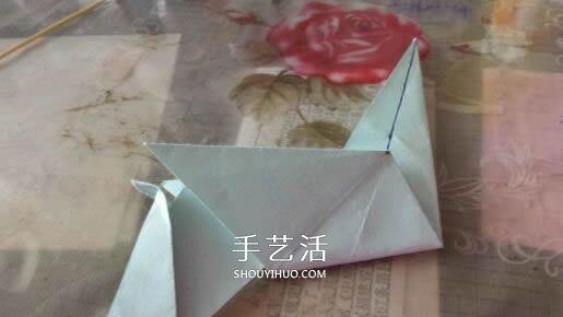 立体大象怎么折图解 折纸站立大象的折法