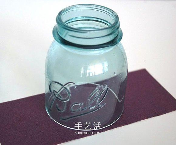 玻璃瓶DIY风铃的方法 自制玻璃风铃图解教程 -  www.shouyihuo.com