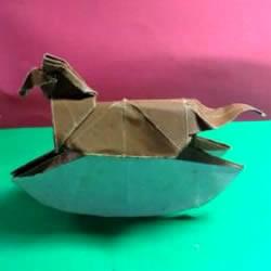 玩具木马的折法图解 折纸木马的方法教程
