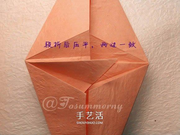 怎么折纸老鼠的图解 立体小老鼠的折法步骤