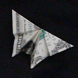 美元折纸蝴蝶图解教程 怎么用美元纸币折蝴蝶
