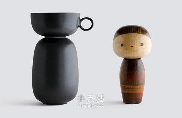 与木芥子一起喝茶!日本传统玩偶与瓷器的结合 -  www.shouyihuo.com