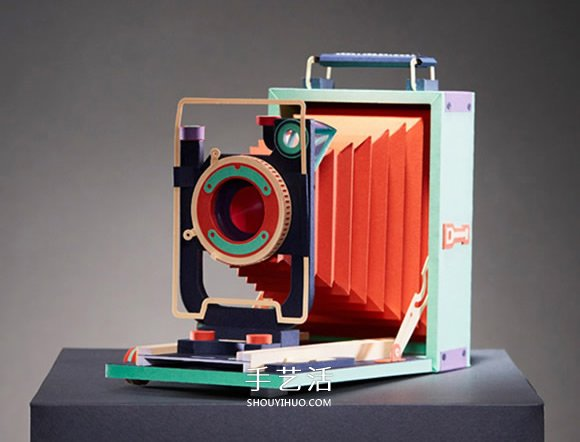 回归底片时代!首尔艺术家打造1:1复古纸相机 -  www.shouyihuo.com