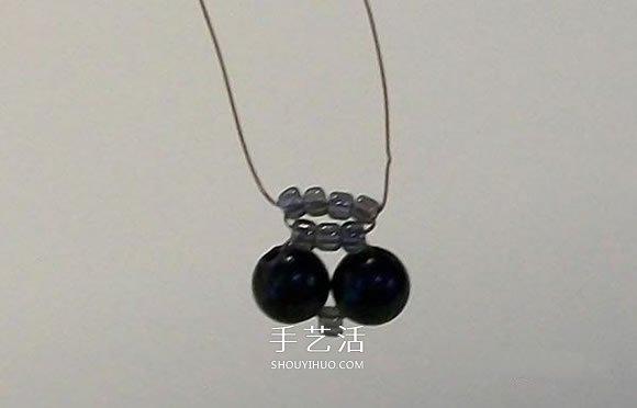 串珠蜻蜓的DIY方法 串珠手工制作蜻蜓图解 -  www.shouyihuo.com