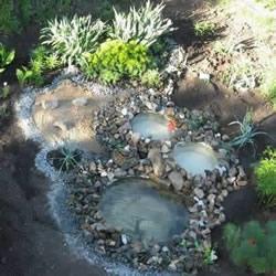 轮胎废物利用DIY池子 用废旧轮胎制作池塘