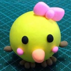 超轻粘土制作小鸡图解 简单又可爱粘土小鸡DIY