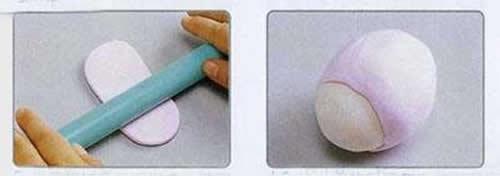 粘土小绵羊的做法图解 超轻粘土制作小绵羊 -  www.shouyihuo.com