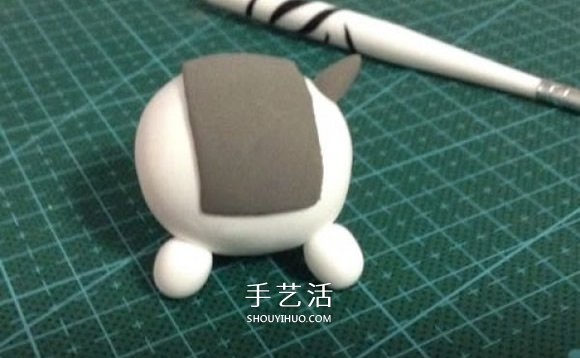 超轻粘土小马制作图解 卡通马儿粘土DIY教程 -  www.shouyihuo.com