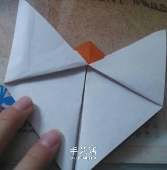 折纸马儿的方法图解 手工折叠立体马儿步骤