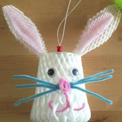 中秋节兔子灯手工制作 元宵兔子灯DIY图解