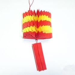中秋灯笼DIY制作图解 幼儿园做灯笼的教程