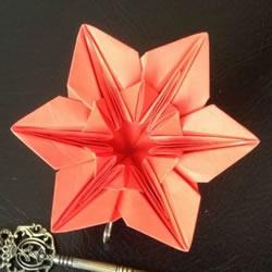 君子兰的折法图解步骤 折纸君子兰的方法教程