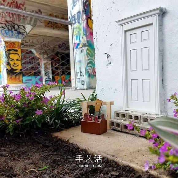 梦游仙境般的神秘感 隐藏在墙角边的小小门扉 -  www.shouyihuo.com