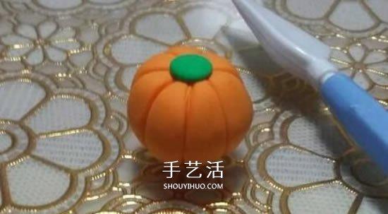超轻粘土制作南瓜灯 万圣节粘土南瓜灯DIY -  www.shouyihuo.com