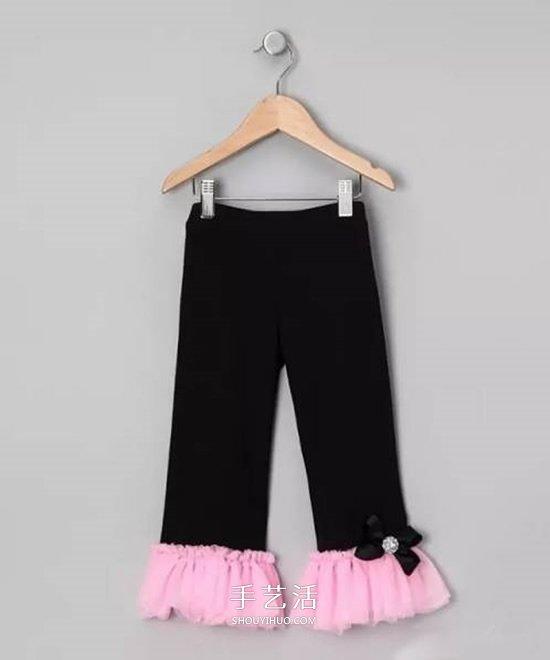 宝宝裤子加长的方法 儿童裤子改造加长图解