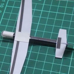 滑翔机模型的制作方法 卡纸做滑翔机模型图解