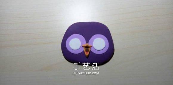 超轻粘土制作猫头鹰 简单粘土猫头鹰的做法 -  www.shouyihuo.com