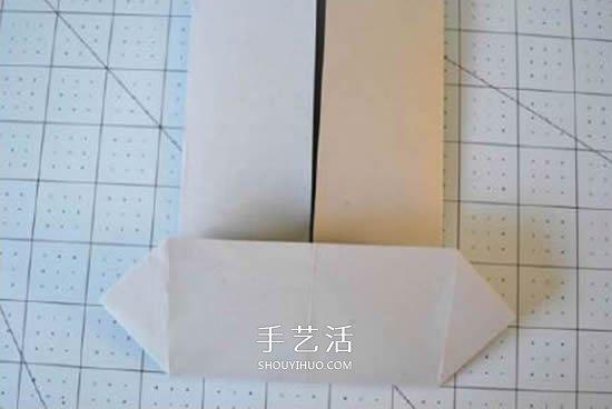 纸衬衫的折法简单图解 可爱小衬衫怎么折步骤 -  www.shouyihuo.com