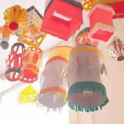 四种简单纸灯笼的做法 千亿国际娱乐注册灯笼制作教程